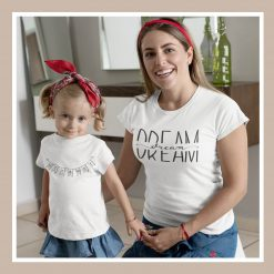 Mom's Matching T-Shirt and Toddler's T-Shirt