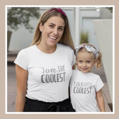 Μπλουζάκια για μαμά και κόρη με χιούμορ